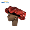 Wholesale Premium Extra Large Satin Sleep cap hat Layered Adjustable Satin hair designer durag Bonnet
