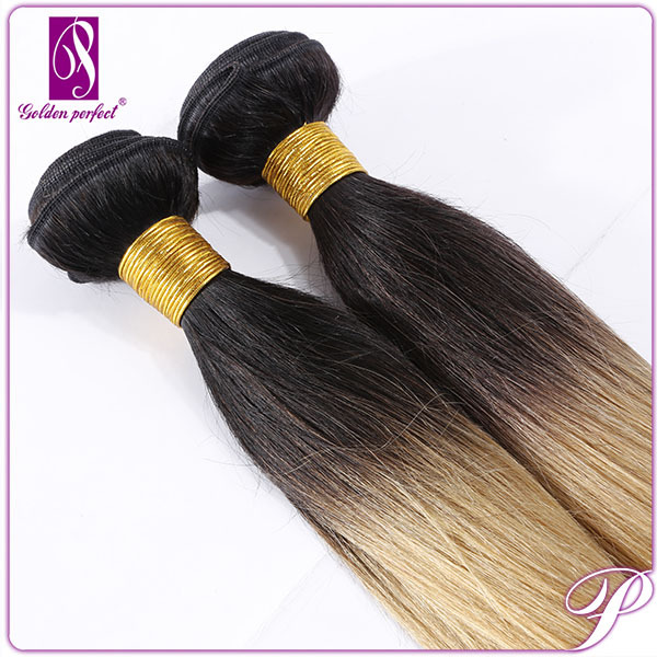 Peruvian Kinky Curly Hair Weft free Hair Weave Samples ombre bundles 100% remy human hair extension