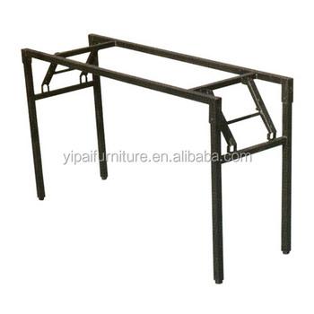 Staffe Per Tavoli Pieghevoli.Stile Nuovo Top Qualita Pieghevole Pieghevoli Di Metallo Gamba Del
