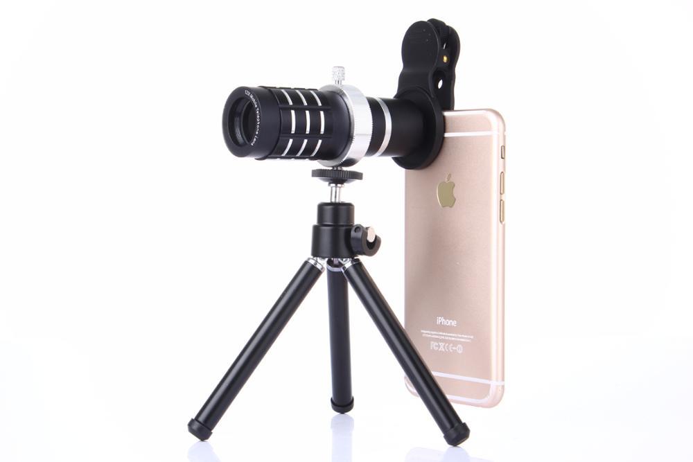 Hxgd camera 12x telescope mobile camera lens suit for smartphone