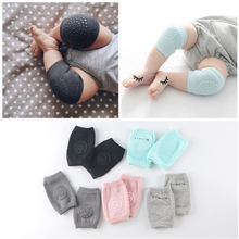 Hot Selling Baby Knee Protector Soft Cotton Crawling Baby high knee socks Safty Baby Knee Pad