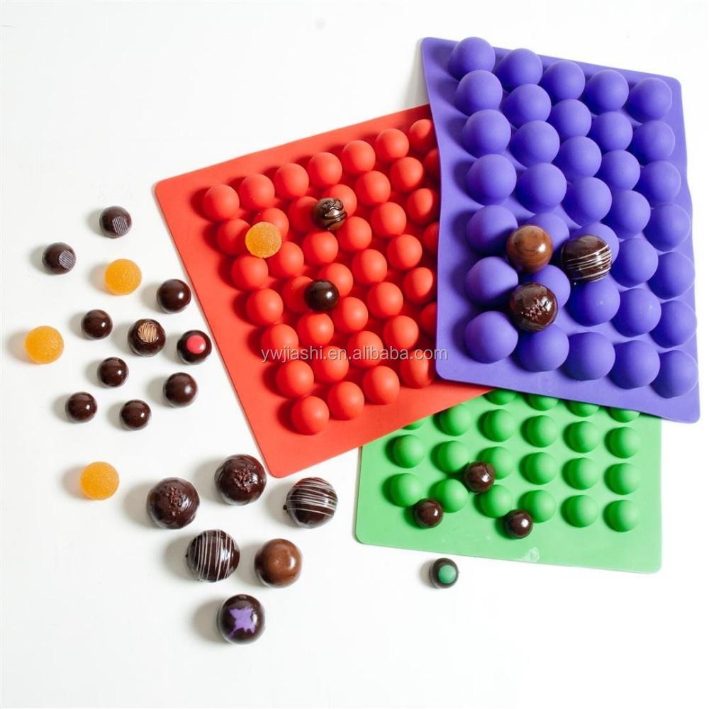Utensilios de cocina de silicona de grado alimenticio molde de trufa herramientas para pasteles - Utensilios de cocina de silicona ...