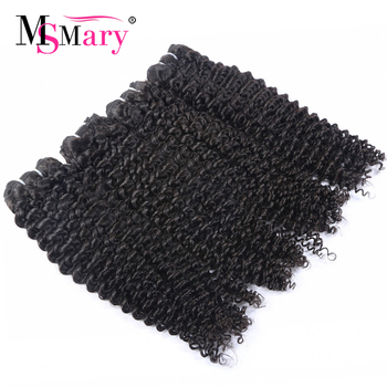 No Tangle No Shed Burmese Human Hair Weave Bundles Naturally Curly Hair Styles For Women