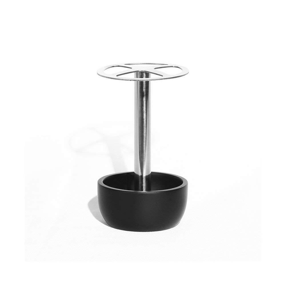 PiXiu-XP Stainless Steel Toothbrush Holder Toothpaste Holder for Bathroom Vanity Countertops Black