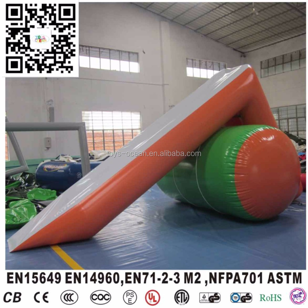mini floating small inflatable pool water slide customized design