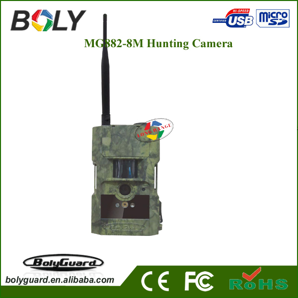 Night vision time lapse infrared thermal trail camera BG962-X30W with 30megapixel 1080P HD