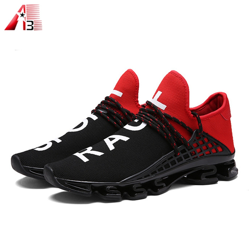 New man fashion comfortable brand shoes sport logo your model casual own 1CxqXrw1