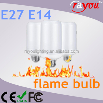 best selling products ErP led flicker flame bulb,gravity led flame lamp fire flame lamps