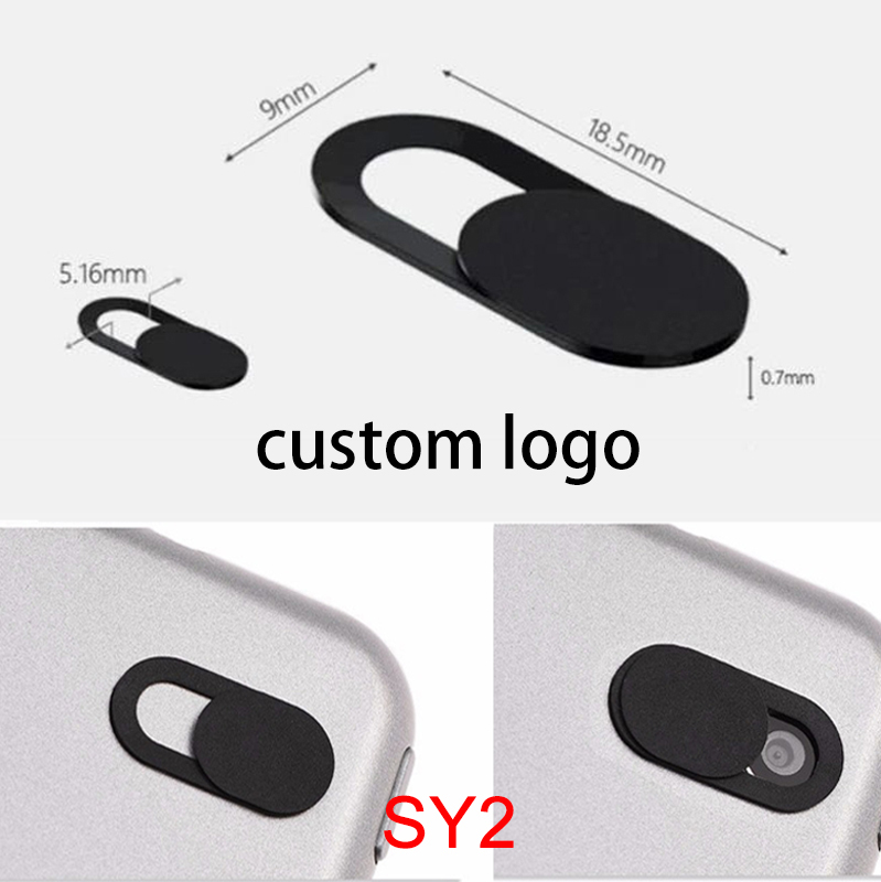 4 kinds style customization ABS plastic sliding webcam cover privacy cover for Laptops phone ect promotion gift