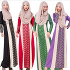 Summer Dress 2017 Muslim Clothes Long Sleeve Stitching Loose Indonesia Muslim Dresses Abaya Robe Dress