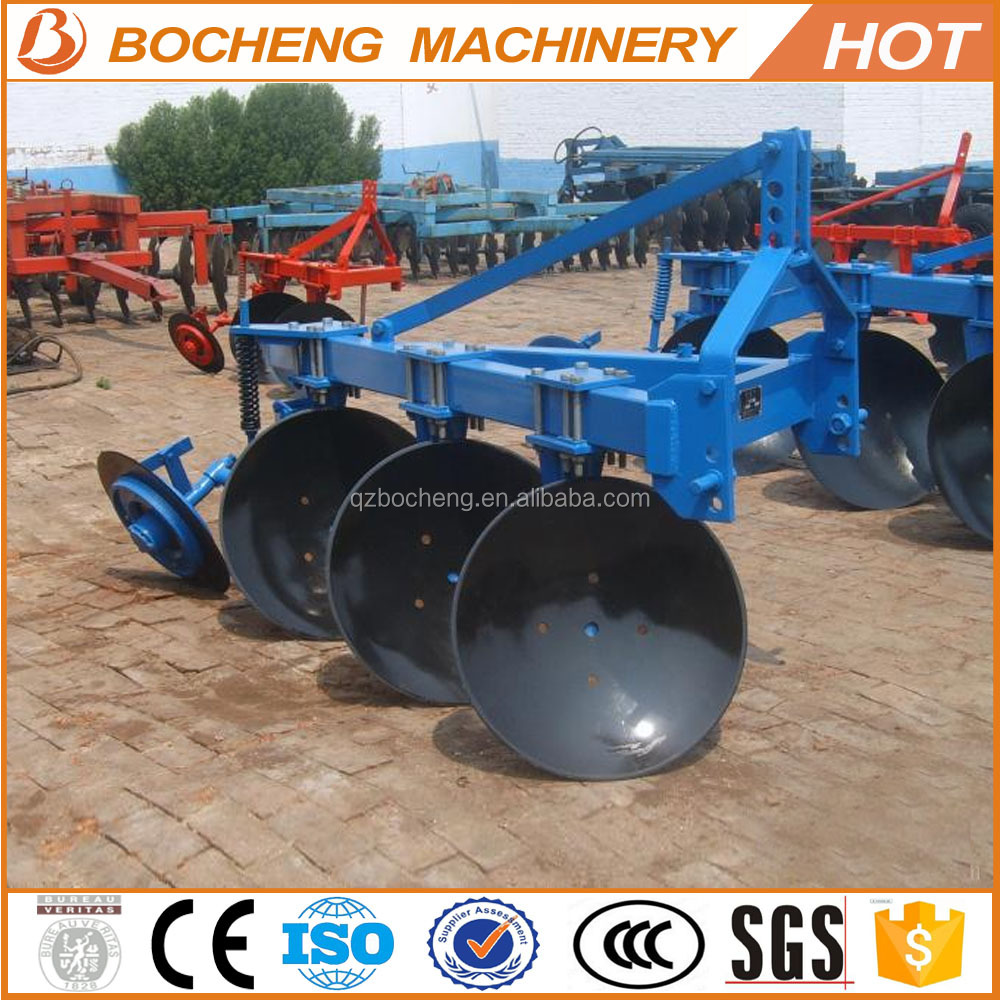 used 1LY series 4 disc plough round tube disc plough