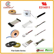 Hot sale 1.0,1.27, 2.0, 2.54mm pitch flexible flat ribbon cable & wire with UL certificated