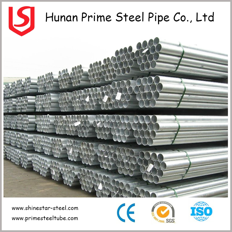 High Quality Pipe Supplier Galvanized Steel Stocking Tube