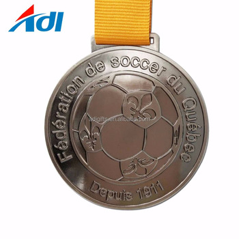 2018 new custom cheap metal soccer football sport award medals