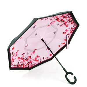 New inverse Umbrella cute design inverted umbrella