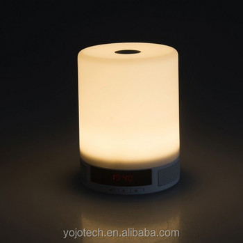 Portable U0026 Rechargeable Touch Sensor Led Table Lamp With Mini Speaker