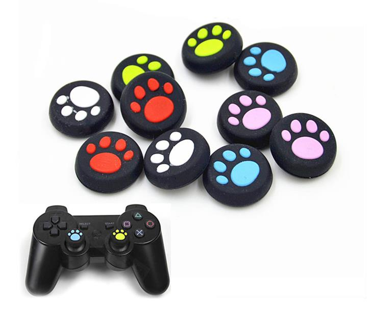 Silicone Rubber thumb grips controller Thumbstick Thumb Stick joystick Grips Covers for PS4 For xbox one