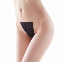 No-linge strapless invisible panties cat pattern underwear thong for women
