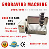 4 axis stepper control engraving machine low cost cnc lathe machine