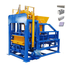Fully automatic hollow concrete fly ash brick block making plant