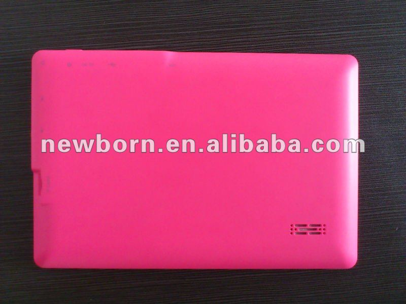 customized 7 inch mid with android 4.0 1G DDR3
