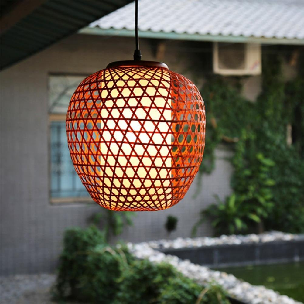 GLX Southeast Asia chandeliers, bamboo chandeliers, Japanese art lamps 107CM 27CM