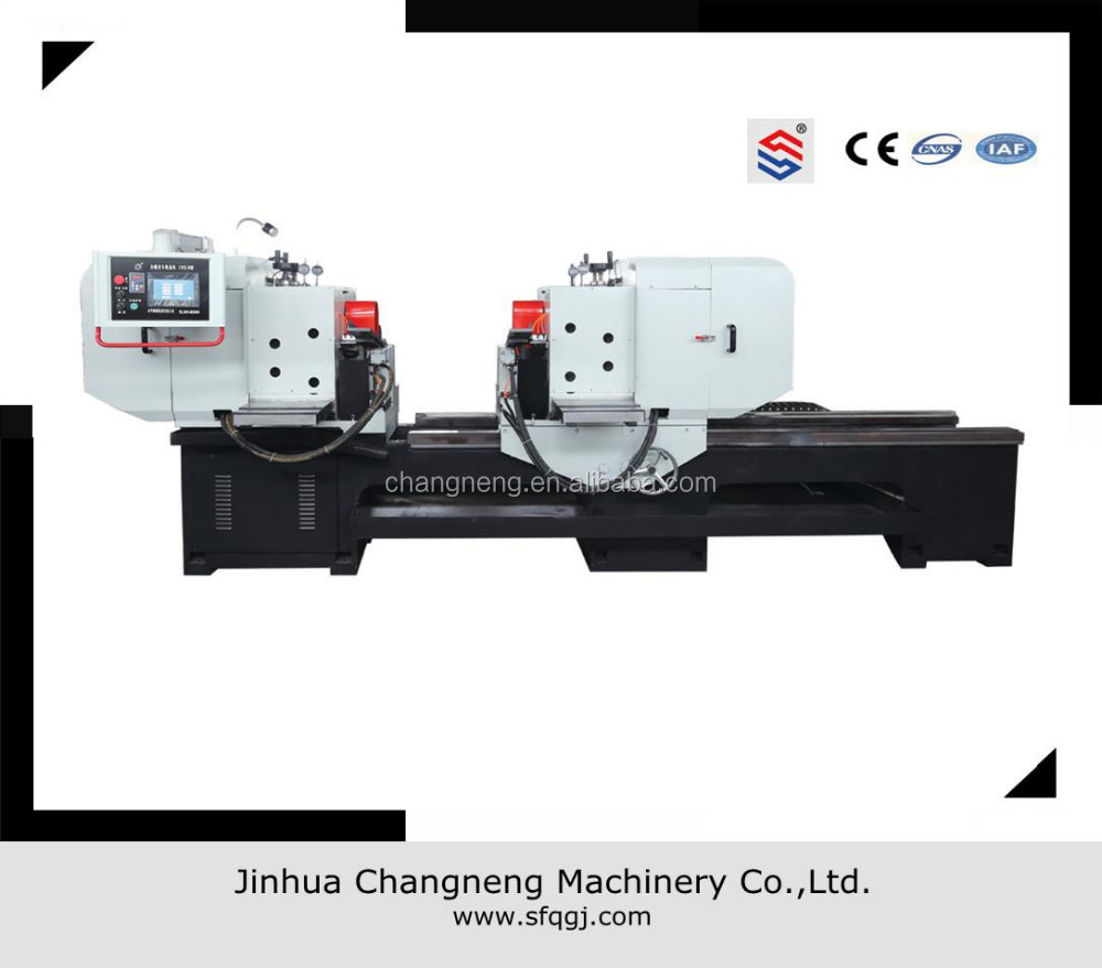 Idler roller automatic milling machine for both roller ends hole face milling