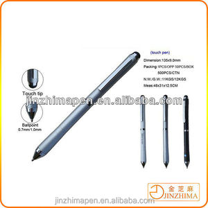 2014 new products Fashion rubber tip stylus pen,lcd monitor pen,tablet for ipad pen