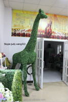 Christmas Decorative Tall Giraffe Statue Home Decoration Large ...