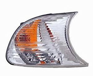 PASSENGER SIDE SIGNAL LIGHT BMW 320i, BMW 325Ci, BMW 325i, BMW 325xi, BMW 330Ci, BMW 330i, BMW 330xi, BMW M3 PARKING/SIGNAL LAMP; RH; with WHITE LENS