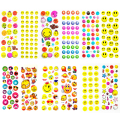 48 Sheets Lot 12 Styles 3D Emoji Puffy Stickers Smile Face Emotions Stickers Toy Gift for