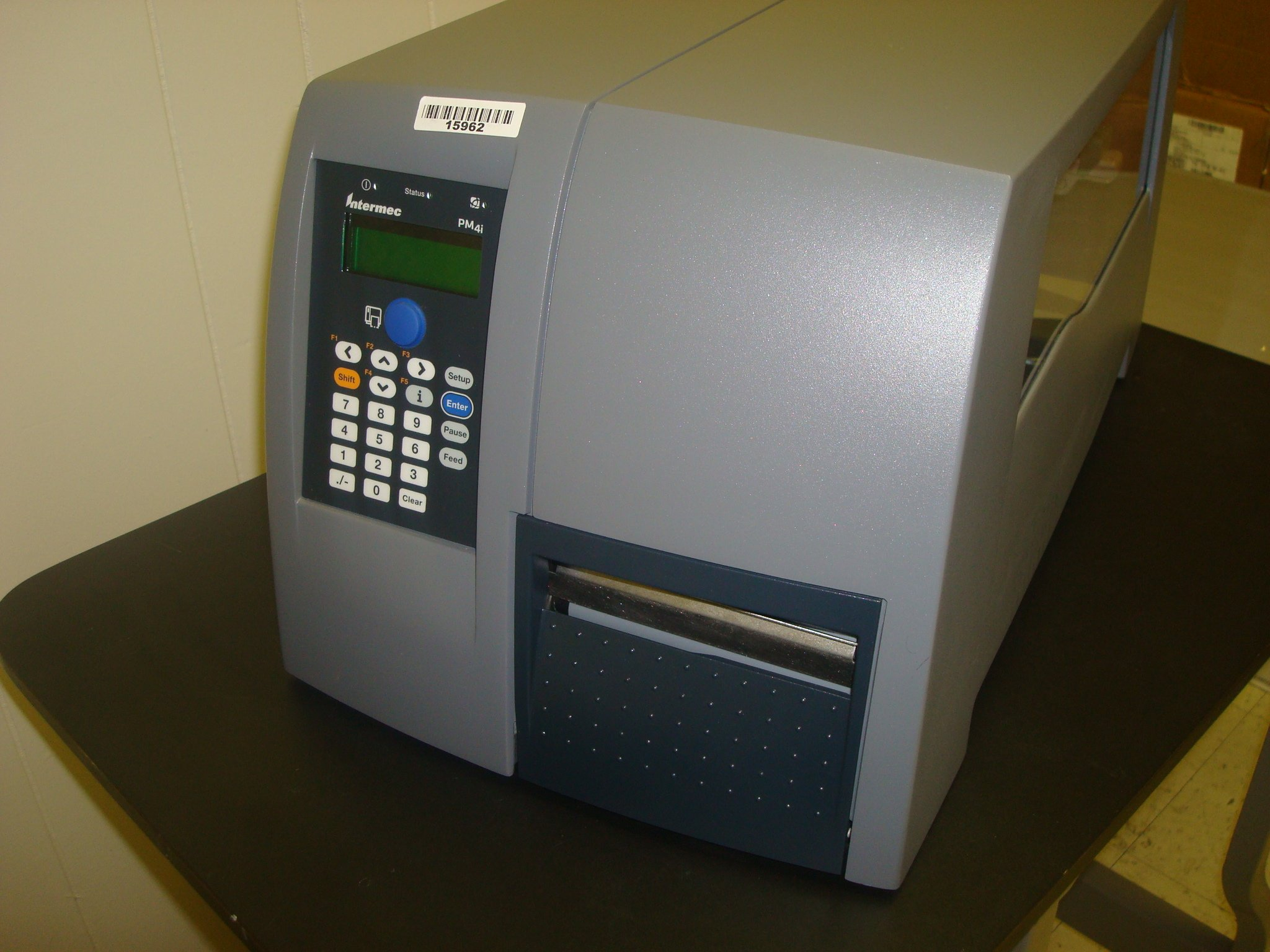 Intermec EasyCoder PM4i Direct Thermal/Thermal Transfer Printer - Monochrome - Desktop - Label Print. PTR/PM4I/WRLS/32+16/TT/203 BS-AC. 8 in/s Mono - 203dpi - Fast Ethernet - Wi-Fi - USB