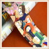 2016 Newly design cartoon printed elastic bands for kid clothing