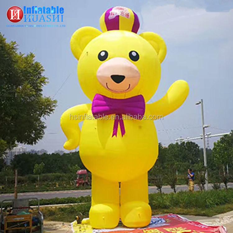 Huashi Newest Design Giant Cartoon Winnie Pooh Mascot Costume Inflatable Pooh - Buy Inflatable ...