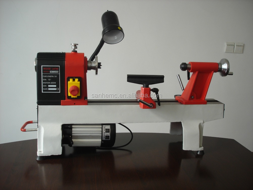 6 speeds or variable speed mini wood lathe MC1218B MC1218VDB