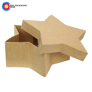 Different DIY fancy Cardboard Gift Box Handmade Star Shaped gift boxes