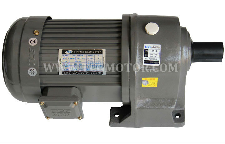1HP 750W 100RPM AC Motor with Gear reducer