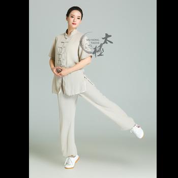 Hot Sale Flax Short Sleeves Wushu Uniform Men And Women Clothing - Buy  Wushu Uniform,Wushu Clothing,Men And Women Clothing Product on Alibaba com