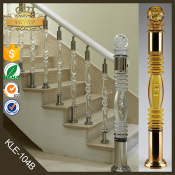 Amazing Glass Stair Railing Cost Plastic Stair Handrail FOR Crystal Stair Railing