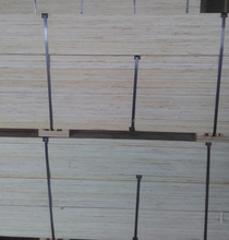 Poplar LVL planks for making wood pallets / pallet planks