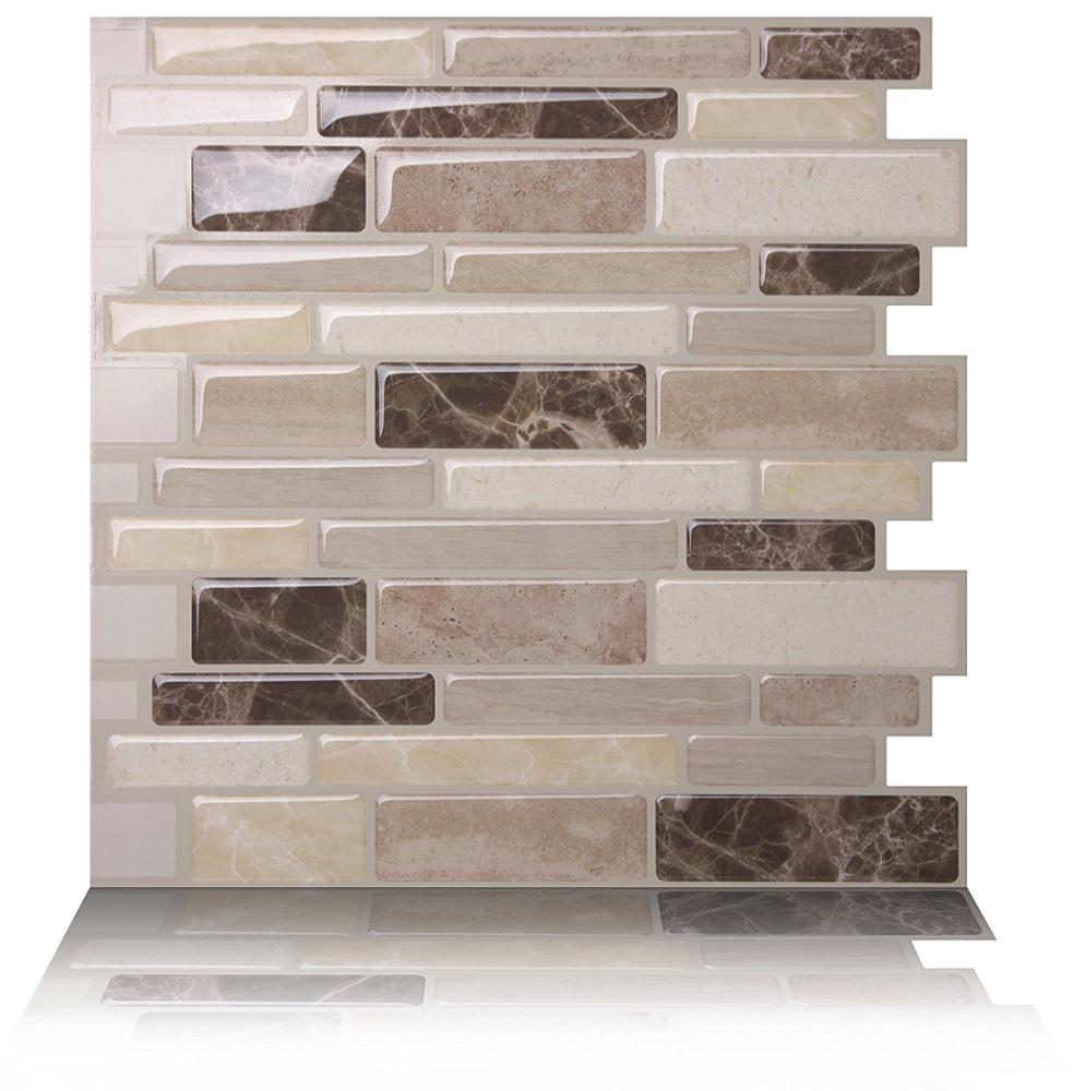 Self Adhesive Vinyl Tile For Bathroom And Kitchen Backsplash