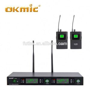 wireless headset transmitter and receiver capsule microphone