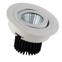China recessed Newest flicker free Round 3W 5W LED Ceiling Lamp Recessed Down Light aluminum YC-C08-181C