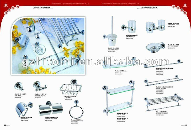 Badkamer Accessoires Set ~ hitomi fabriek rvs badkamer accessoires set badkamer sets product ID