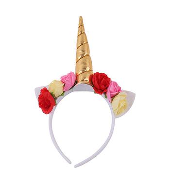Wholesale Unicorn Headband Baby Flower Headband For Kids