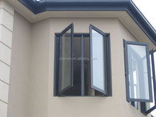 Aluminium double casement sash window