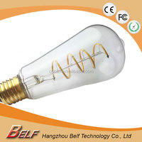 ** st64 china supplier provide soft led edison bulb