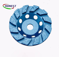 china cup grinding cutting disc for concrete/masonry