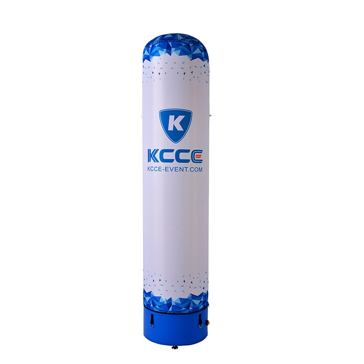 New Coming Best Price Customized promotion display tool LED Waterproof inflatable air column//