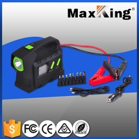 28000mah battery booster jump starter pack start medium truck